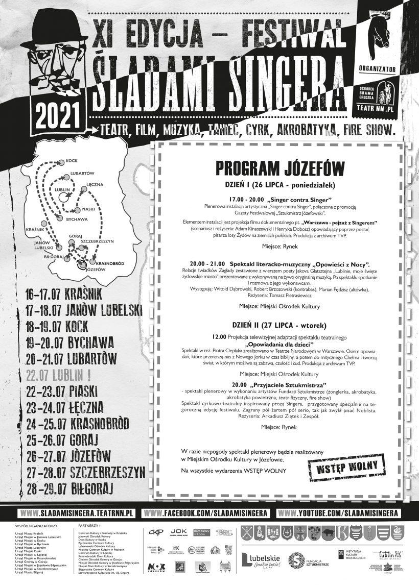 Singer-Afisz-2021-Józefów by .