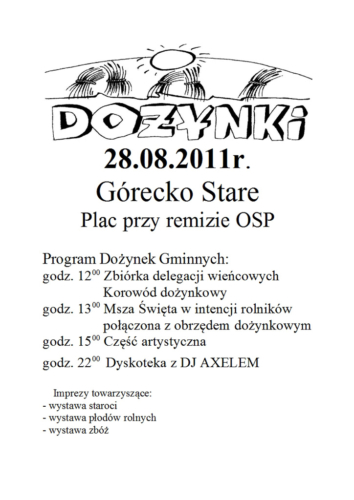 Plakat-dożynki-2011