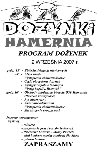 Program-Dożynek