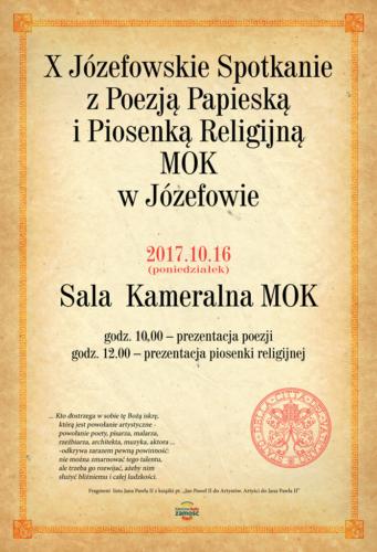 Plakaty Miejski Ośrodek Kultury W Józefówie